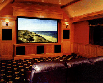 Custom Home Theater - Maine's Home Theater, Audio & Whole House