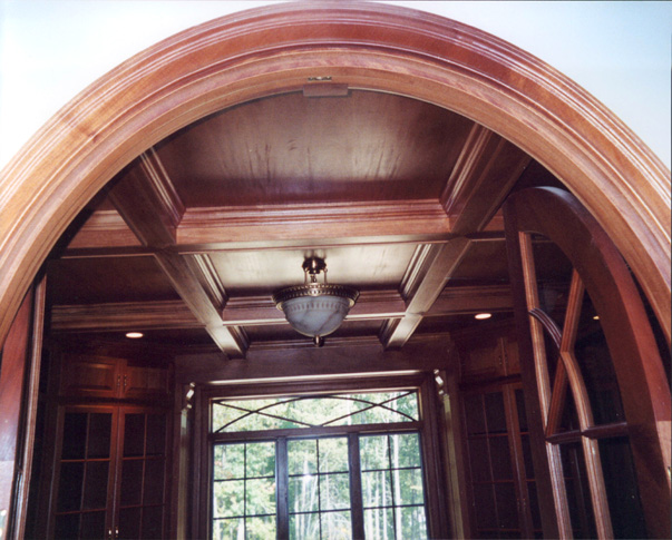 Treehouse Woodworking Arched Entryway