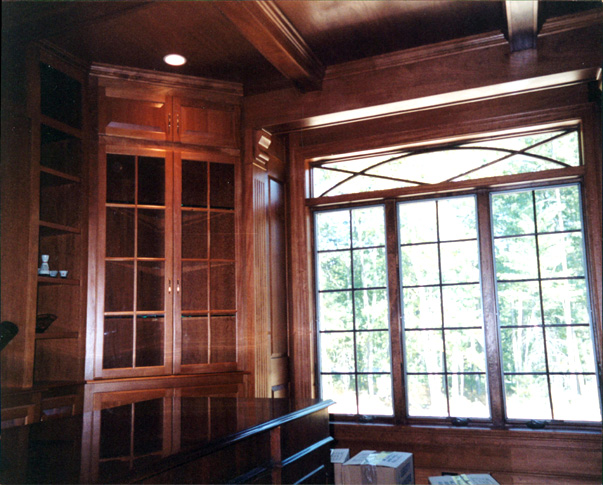 Treehouse Woodworking - Custom Design - Columns - Built-In Bookcases