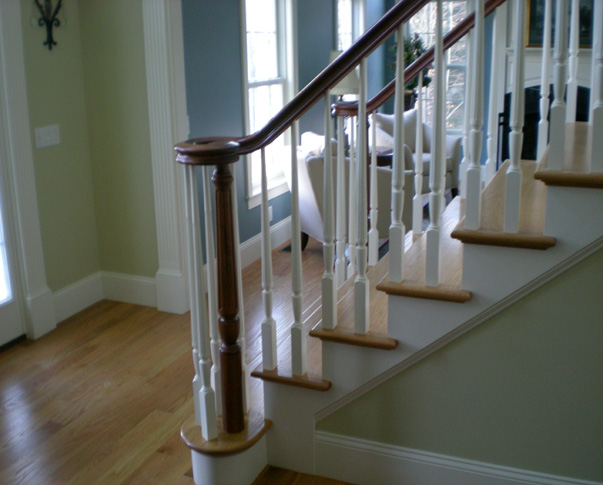 Treehouse Woodworking Custom Stairs Railing Spindles