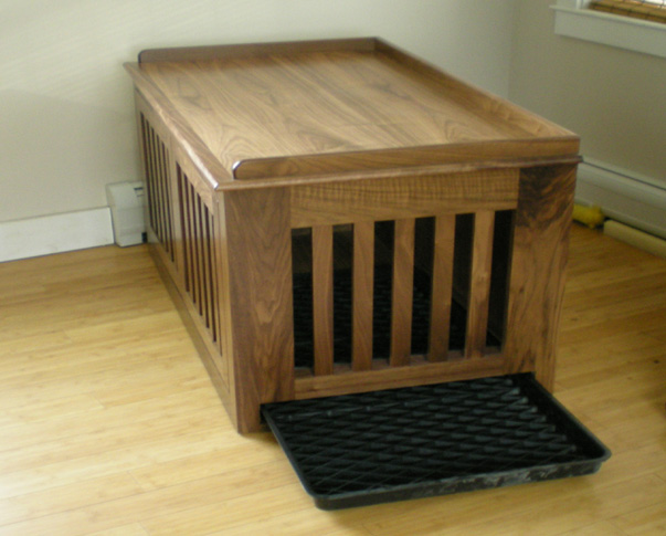 Dog Crate with removeable Tray
