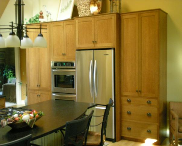 Quarter sawn oak cabinets - Minneapolis Photo Al - Topix