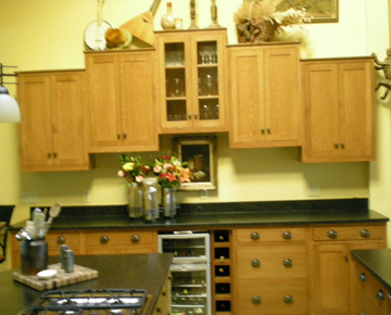 paneled kitchen cabinets treehouse woodworking custom kitchens counters islands 24574