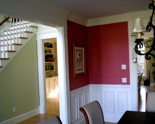 custom architectural moldings applied molding wainscoting fluted cased